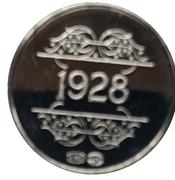 Token - 1830-1980 (1928 C. Permeke) – reverse