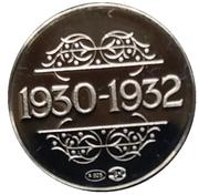 Token - 1830-1980 (1932 F. Van Cauwelaert) – reverse