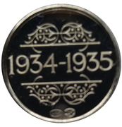 Token - 1830-1980 (1934-1935) – reverse