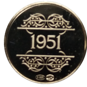 Token - 1830-1980 (1951) – reverse
