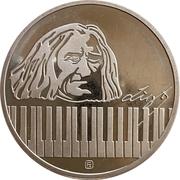Token - Ferenc Liszt – obverse