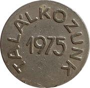 Token - We meet in 1975 – obverse