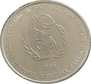 1 Dollar - Folklorama (Manitoba, Winnipeg) – obverse