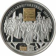 Token - Glück auf (Bergarbeiterstreik 1889) – obverse
