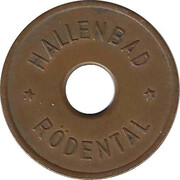 Public Swimming Pool Token - Rodental (youth) – obverse