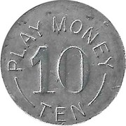 10 Cents - Play Money – obverse