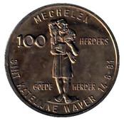 100 Herders - Mechelen - Sint Katelijne Waver – reverse