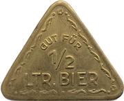 ½ Liter Bier - Ziegler Brauerei (Waldsassen, Bavaria) – obverse