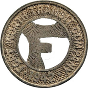1 City Fare - Fort Worth Transit Company (Fort Worth, Texas) – obverse