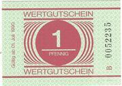 1 Pfennig (Prison Money) – obverse