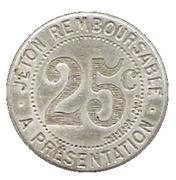 25 Centimes - Cerie Lyonnaise - Montpellier [34] – reverse