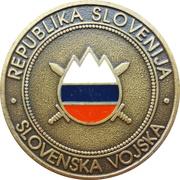 Token - Slovenska vojska (Raketna baterija Roland) – reverse