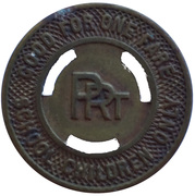 1 Fare - PRT (Philadelphia, Pennsylvania) – reverse