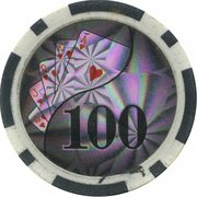 Poker Chip - Conti Group Casino (100) – obverse