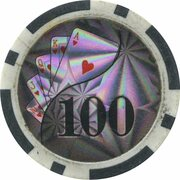 Poker Chip - Conti Group Casino (100) – reverse