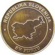 Token - Slovenska vojska (PDRIU) – reverse
