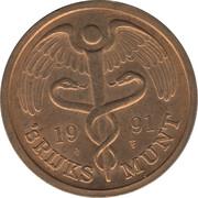Token - Royal Dutch Mint (Claus) – reverse