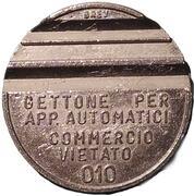 Token - Gettone Apparecchi Automatici (010; Z; 24.5 mm) – obverse