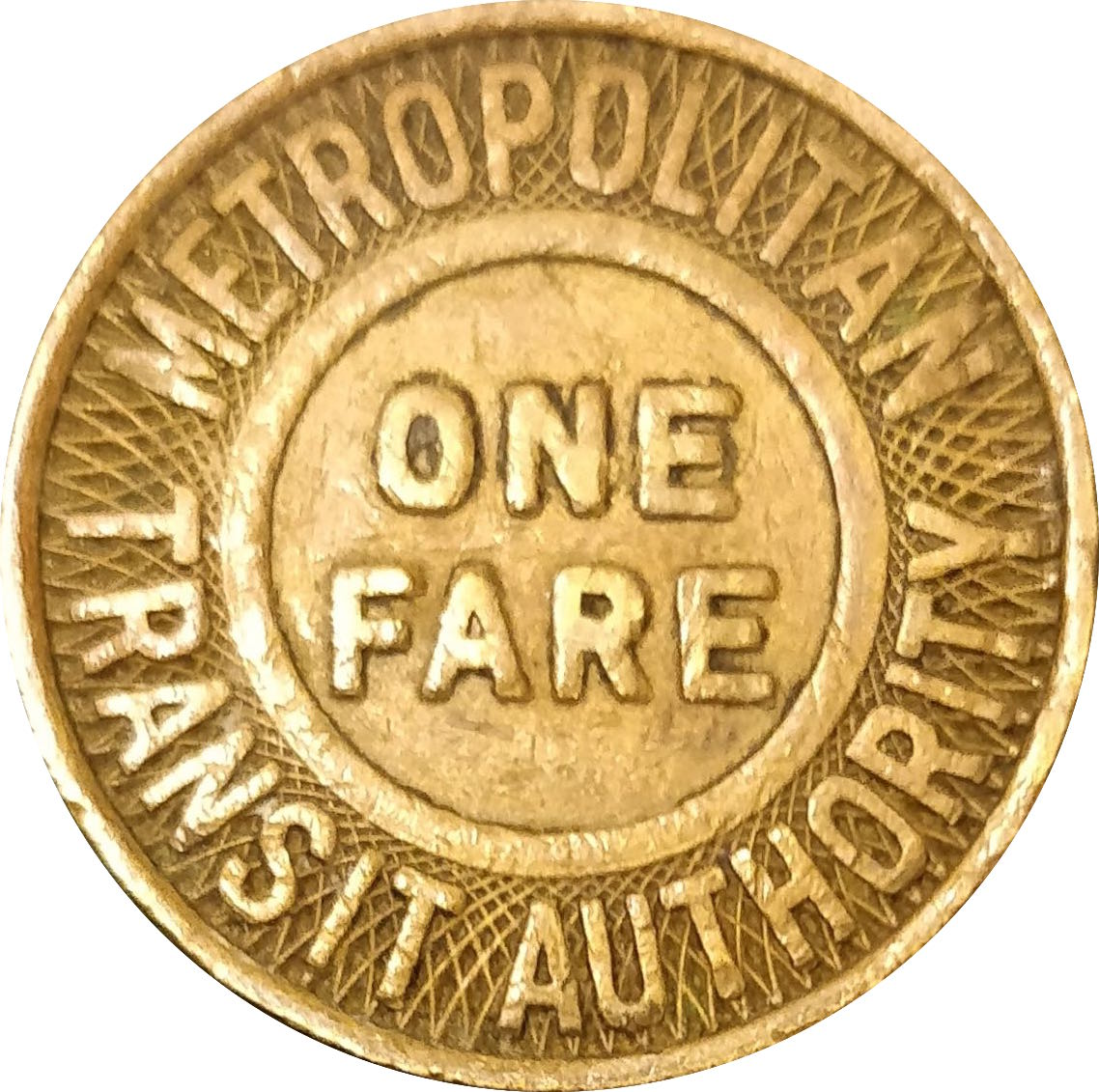 metropolitan transit authority one fare coin value