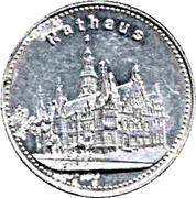 15 Pfennig (Breslau) [Strassenbahn, Schlesien] – reverse