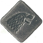 Medal - Game of Thrones (House Stark) – obverse