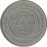 Amusement Token - Roma Casino – reverse