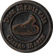 ¼ Real - Dias Medievais (Castro Marim) – obverse