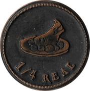 ¼ Real - Dias Medievais (Castro Marim) – reverse