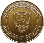 Token - Slovenska vojska (Minister of Defence Karl Erjavec) – reverse