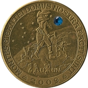 2 Aurun (with sapphire) – reverse