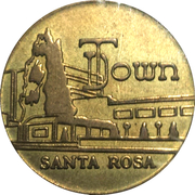 5 Cents - Santa Rosa (California) – obverse