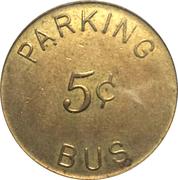 5 Cents - Santa Rosa (California) – reverse