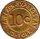 10 Cents - VA. Beach-Expressway (Norfolk, VA) – obverse