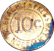 10 Cents - VA. Beach-Expressway (Norfolk, VA) – reverse