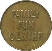 Token - Family Fun Center – obverse