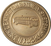 1 Fare - Lexington Railway System (Kentucky) – obverse