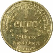 1 Euro - l'Alliance Nord-Ouest – reverse