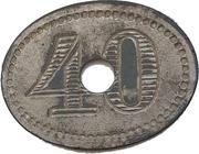40 Pfennig (Werth-Marke) – obverse