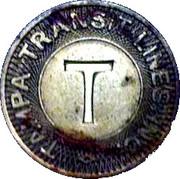 1 Fare - Tampa Transit Lines, Inc. (Tampa, Florida) – obverse