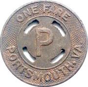 1 Fare - Portsmouth – reverse
