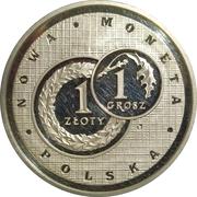 Token - Złotogrosz (Polish New Coin Issue) – obverse