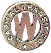 1 Fare - Capital Transit Co. (District Of Columbia, Washington) – obverse