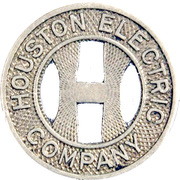 1 Full Fare - Houston Electric Co. (Houston, Texas) – obverse