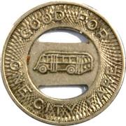 1 City Fare - Grand Forks Transportation Co. (North Dakota) – reverse