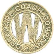1 Fare - Delaware Coach Co. (Wilmington, Delaware) – obverse