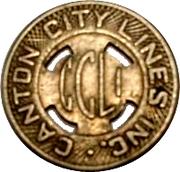 1 Fare - Canton City Lines Inc. – obverse