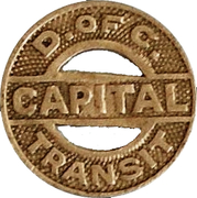 1 Fare - Capital Transit (Washington, D.C.) – obverse