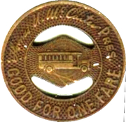 1 Fare - Public Service Coordinated Transport (Newark, New Jersey) – reverse