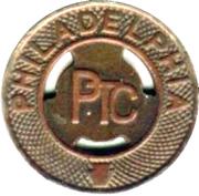 1 Fare - Philadelphia PTC (Philadelphia, Pennsylvania) – obverse