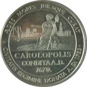 Charleston South Carolina Bicentennial – reverse